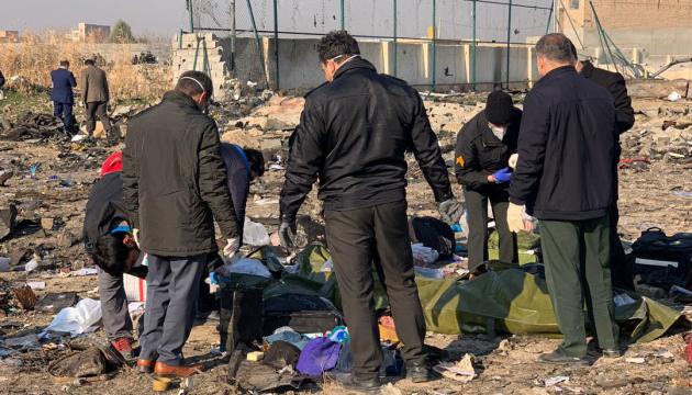 Тегеран відправив останки загиблих у катастрофі літака на аналіз ДНК