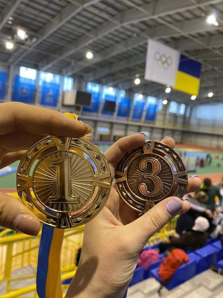 Луцькі атлети взяли участь у чемпіонаті з легкої атлетики