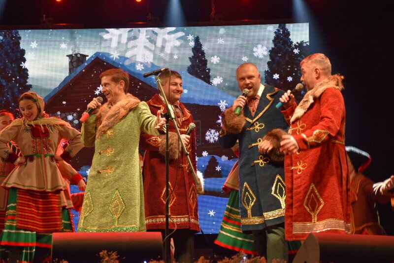 У Луцьку триває етнофестиваль «Різдво у Луцьку». ФОТО