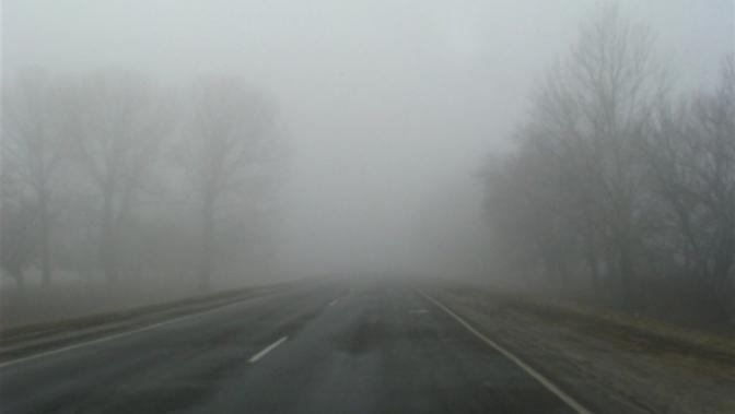 На Волині туман на дорогах: водіїв просять бути обережними
