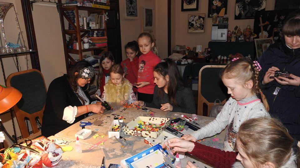 У Луцьку влаштували різдвяний майстер-клас