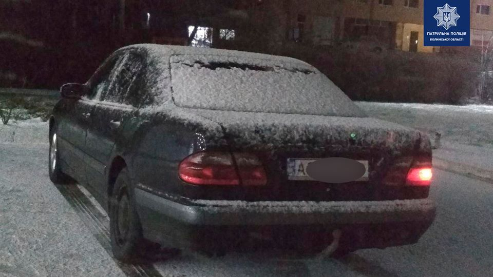 За ніч у Луцьку виявили трьох п'яних водіїв