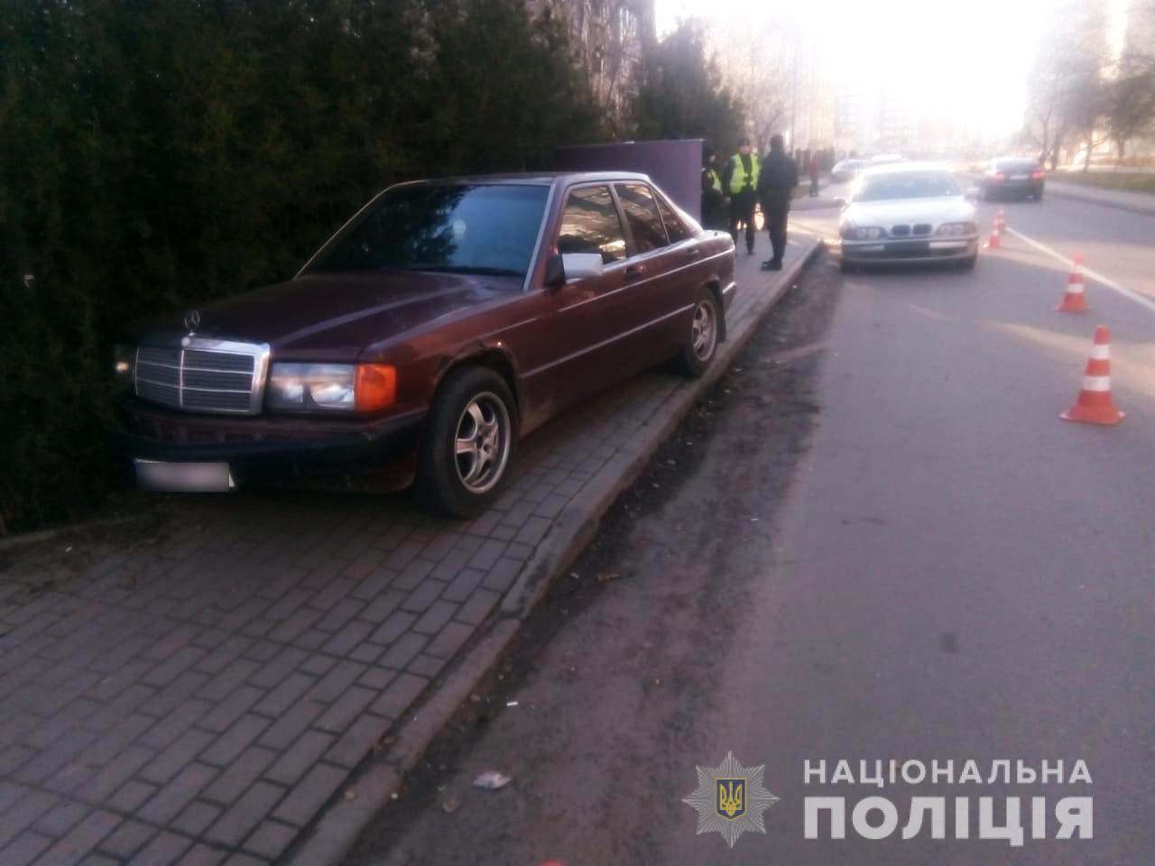 ДТП у Луцьку: потерпілу госпіталізували