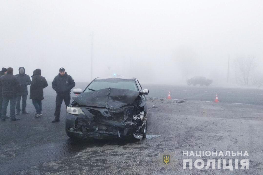 ДТП на Волині: постраждалого забрали у лікарню