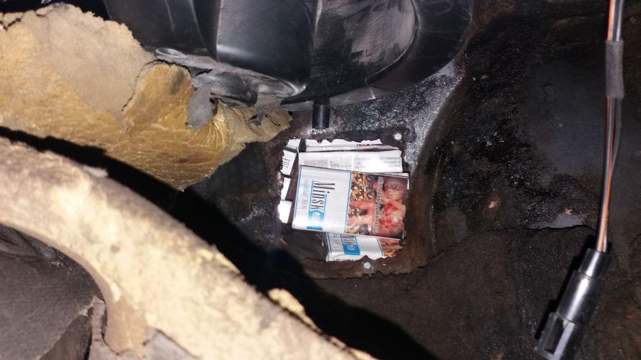 На Волині затримали двох білорусів, які намагалися перевезти цигарки через кордон