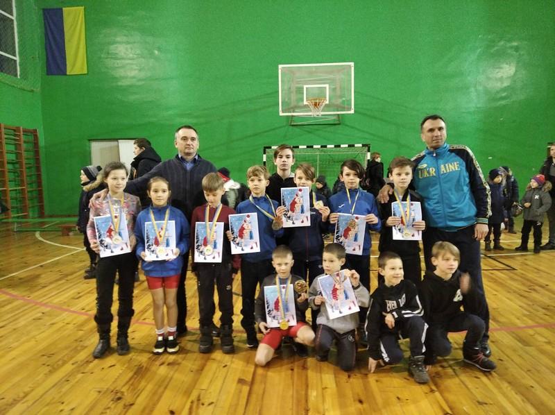 Волиняни стали переможцями відкритого всеукраїнського турніру «Різдвяні зустрічі» з вільної боротьби