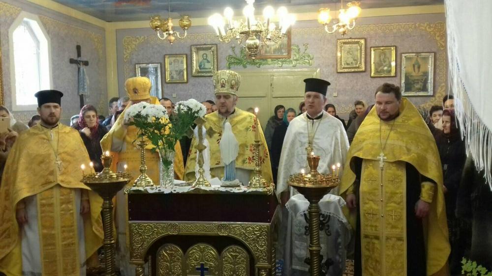 У селі на Волині відзначили 30-річчя відновлення храму