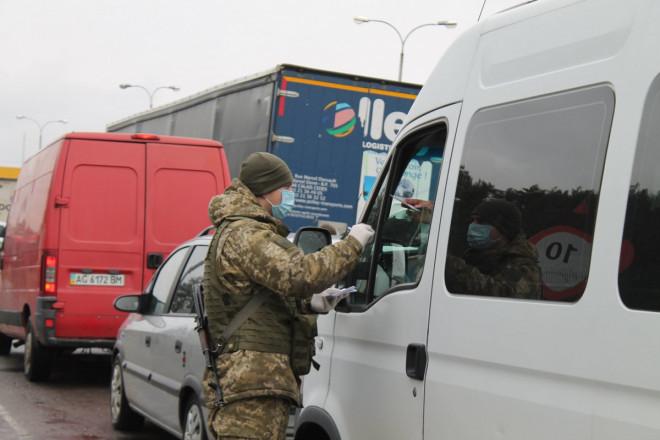 Волинським прикордонникам передали маски та рукавички