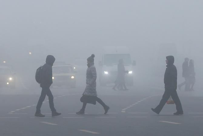 Волинських водіїв попереджають про туман на дорогах