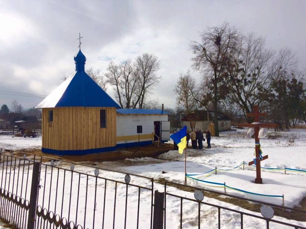 На Волині будуватимуть новий храм