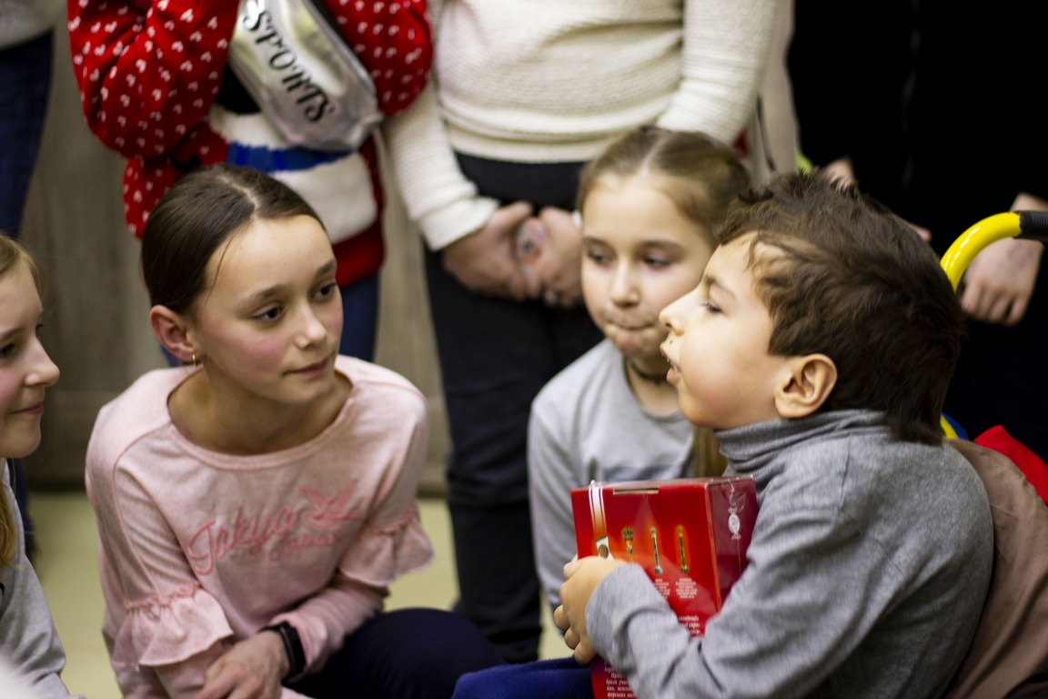 У Луцьку презентували казку про інклюзію