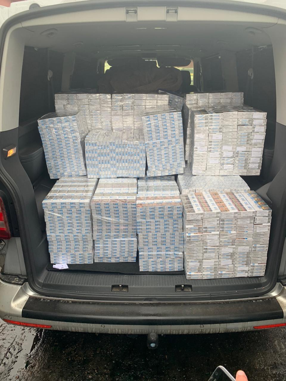 На Волині СБУ вилучила контрабанди на пів мільйона гривень