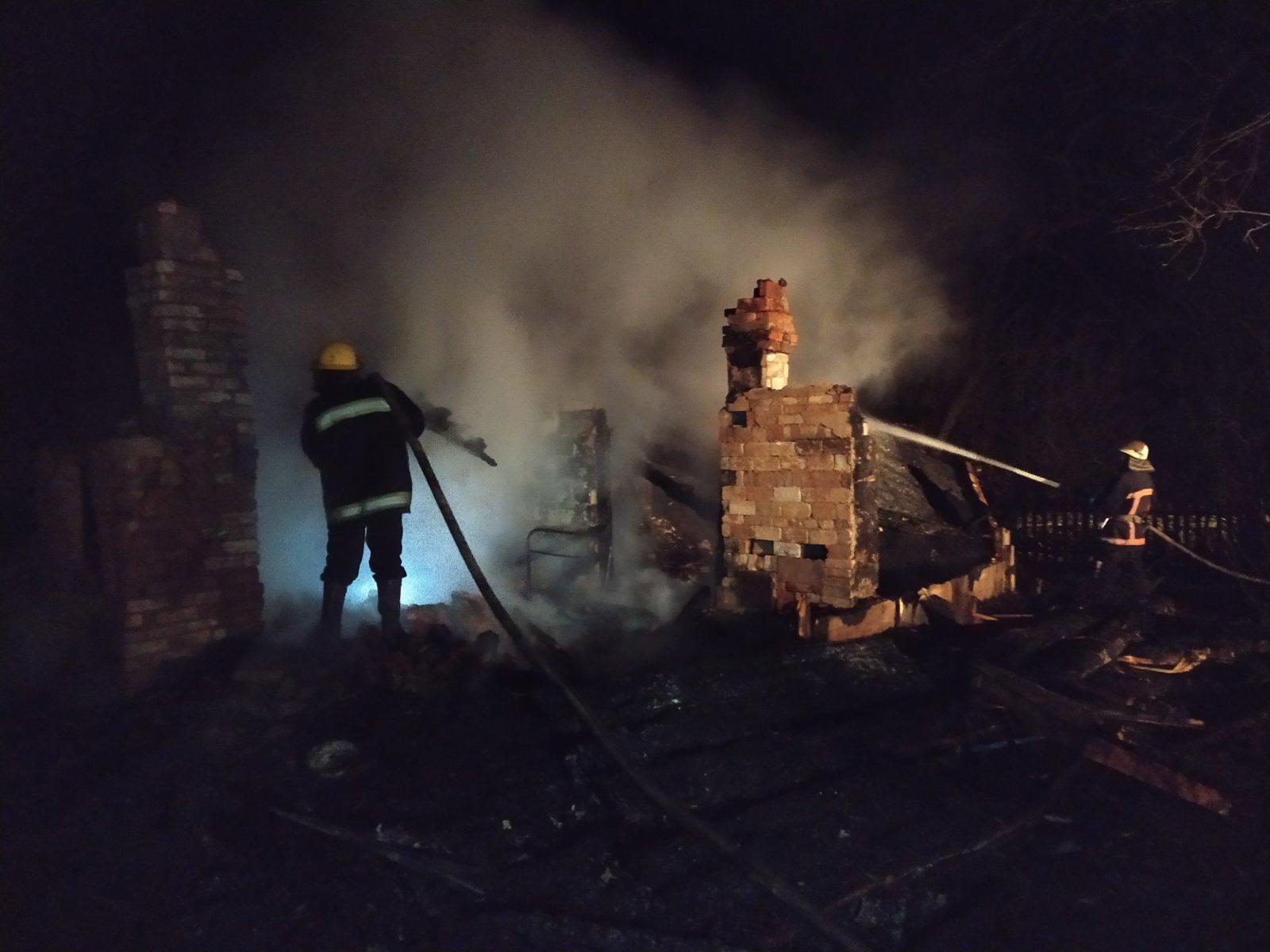 На Волині у пожежі загинуло двоє дітей
