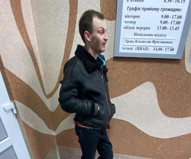 У Луцьку п'яний чоловік гнався з погрозами за місцевими жителями