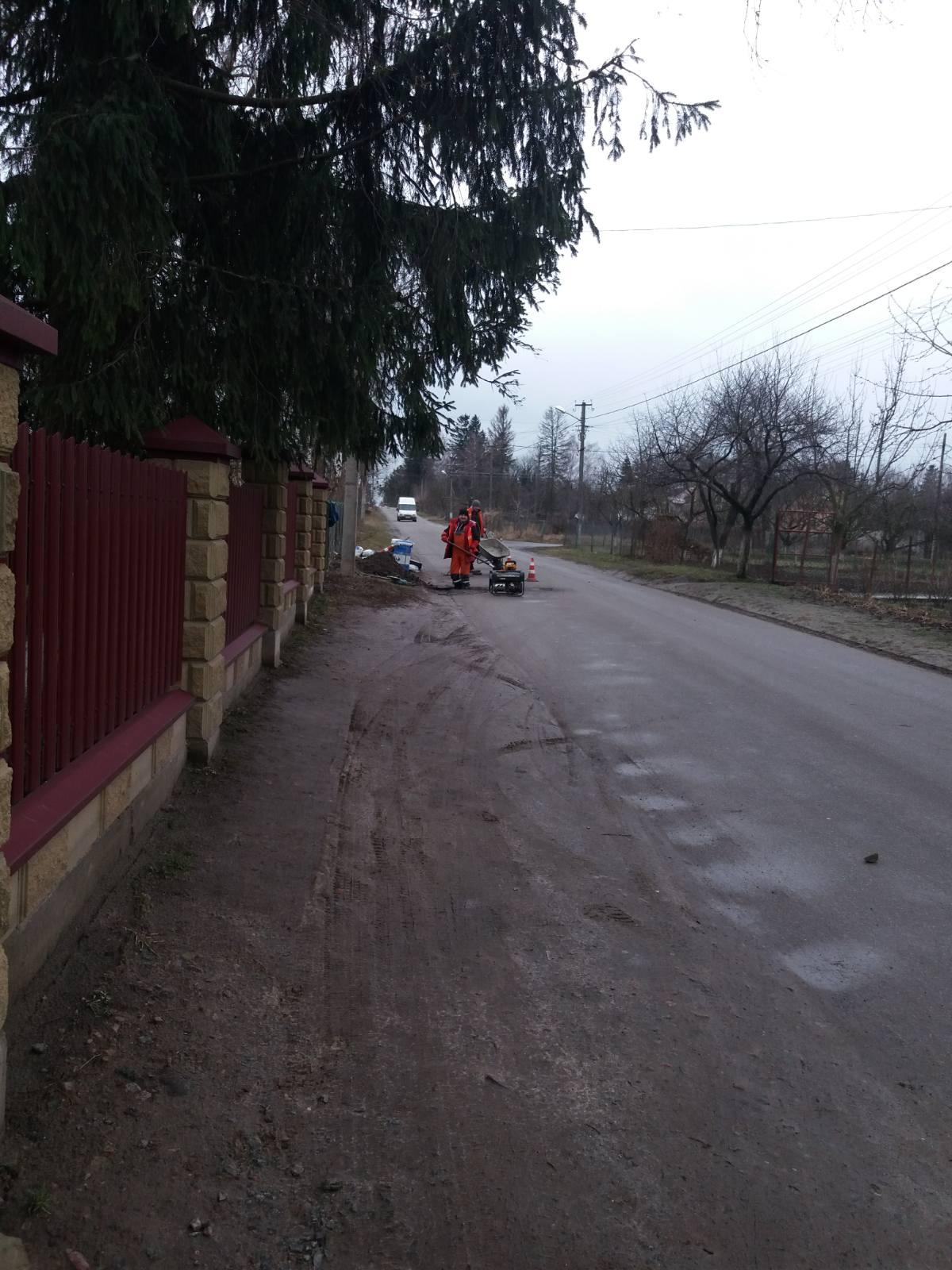 У селі біля Луцька встановлюють «лежачі поліцейські»