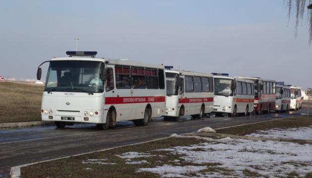 З Уханя до Нових Санжарів доставили українців на 14-денний карантин