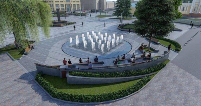 Пустовіт про будівництво фонтану у центрі Луцька: «на ці гроші ми 13-ту школу не збудуємо»