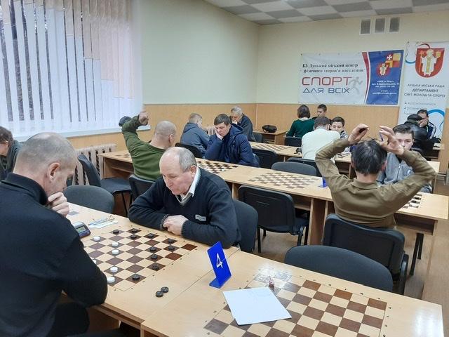 У Луцьку відбувся міський чемпіонат із шашок