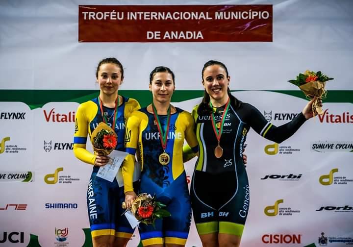 Велосипедистка з Луцька здобула призове місце на міжнародному турнірі