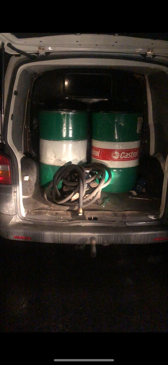 На Волині припинили спробу незаконного транспортування паливно-мастильних матеріалів