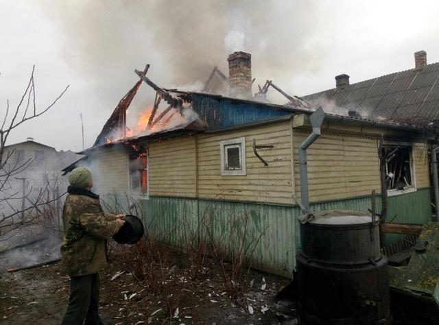 Через несправність пічного опалення на Волині горів будинок