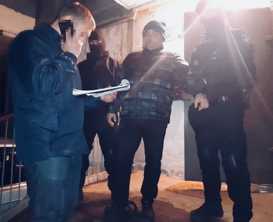 На Волині затримали начальника відділу поліції за хабар
