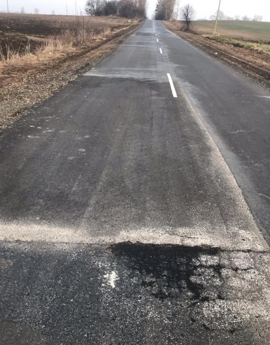 На Волині поліція відкрила кримінал за розтрату коштів на ремонті доріг