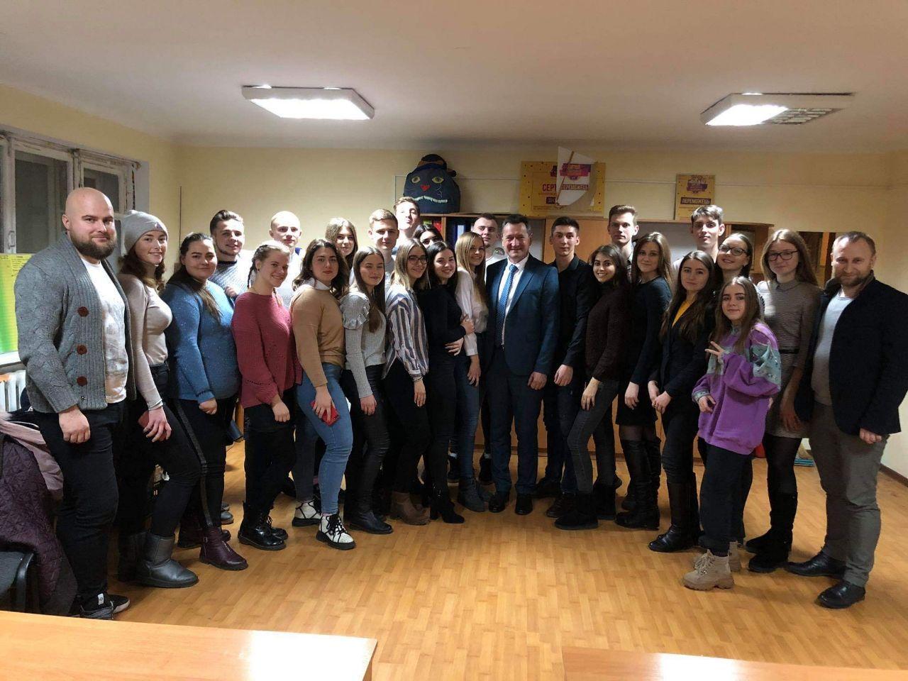 Про що говорив ректор СНУ імені Лесі Українки зі студентською радою університету