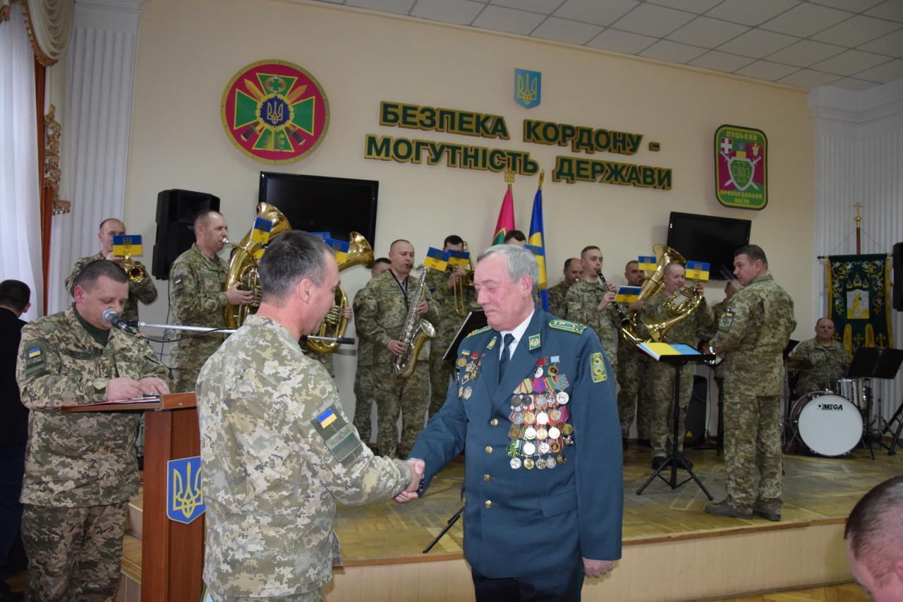 У Луцькому прикордонному загоні вшанували загиблих учасників бойових дій на території інших держав