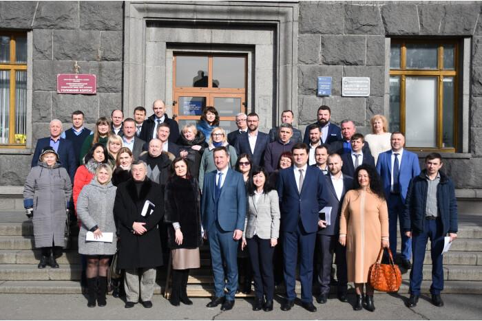 У Лесиному виші відбулася зустріч із депутатами Луцькради