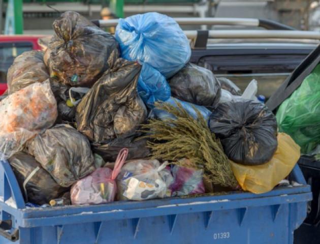 У Луцьку на збирання розкиданого сміття планують витратити понад 1,5 мільйона гривень