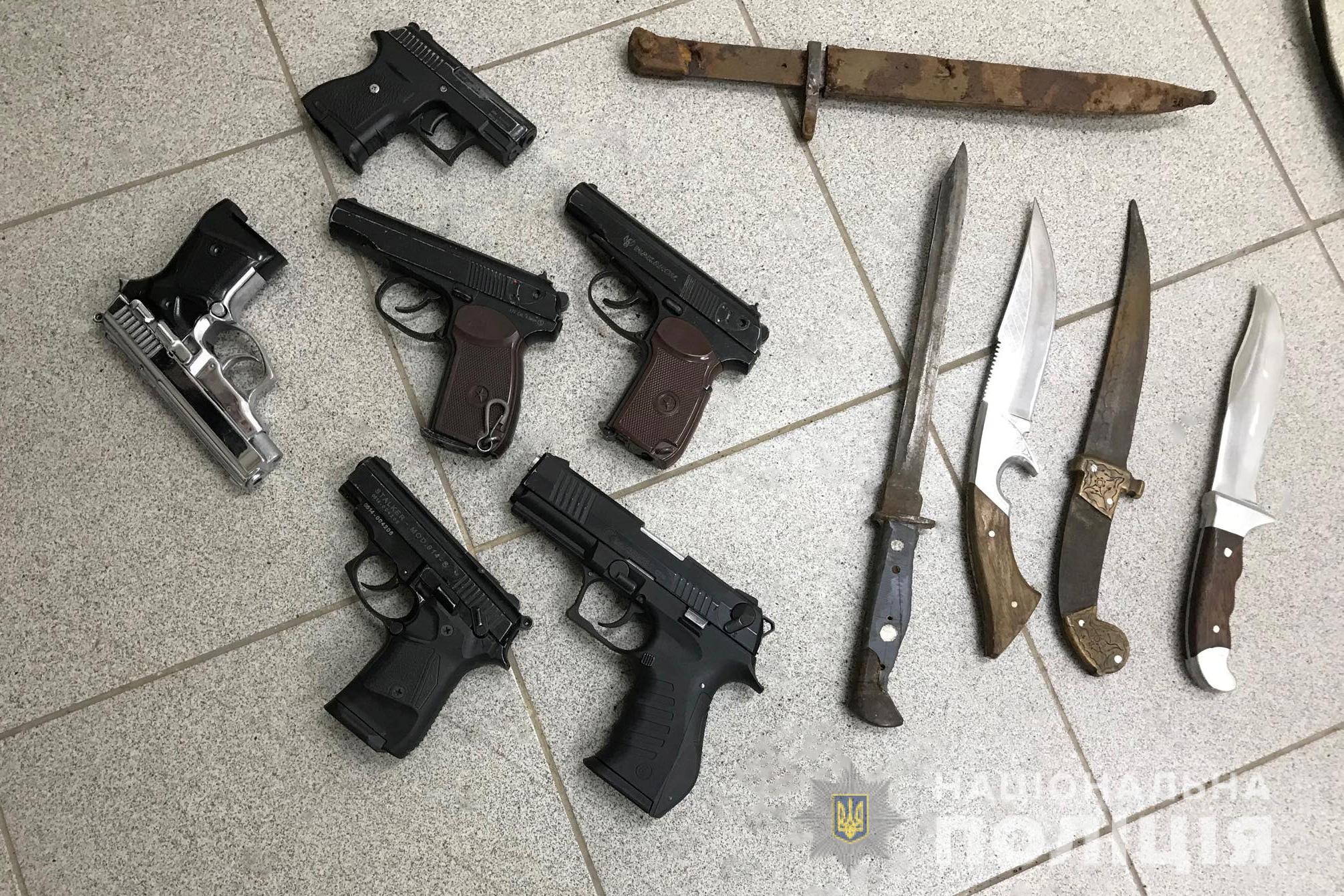 Волинські поліцейські знищили зброю та боєприпаси