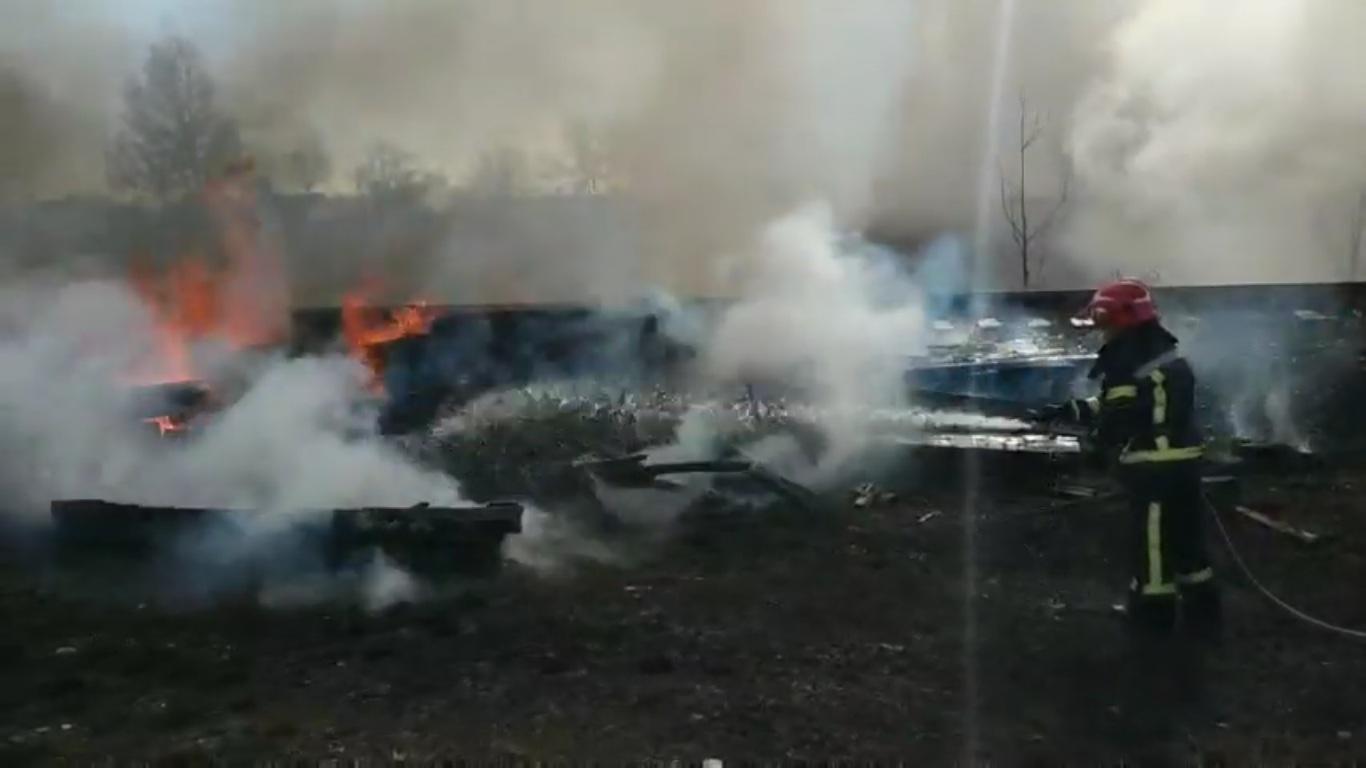 На Волині збільшується кількість пожеж