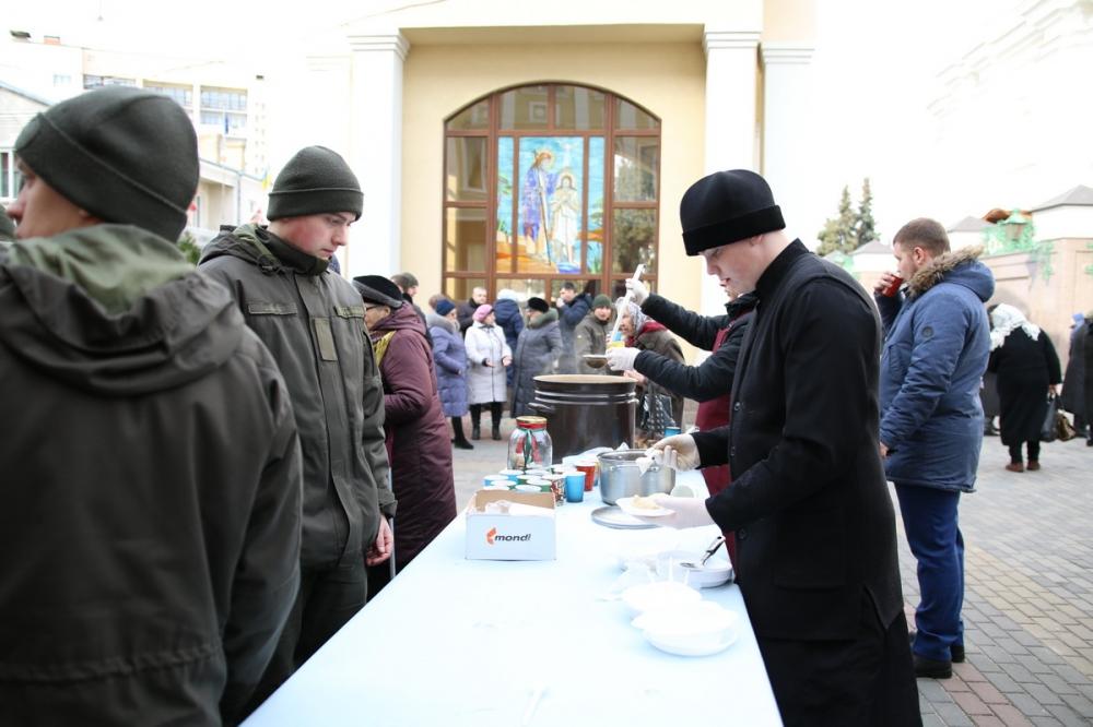 У Луцьку собору відзначили заговини на Великий піст