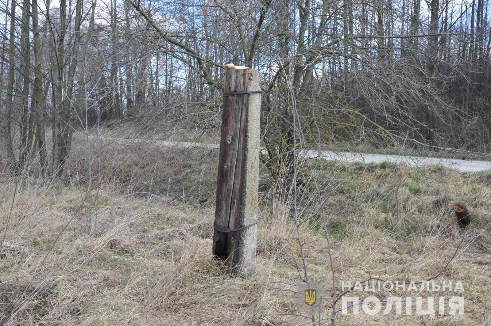Волинянин викрадав опори лінії зв'язку