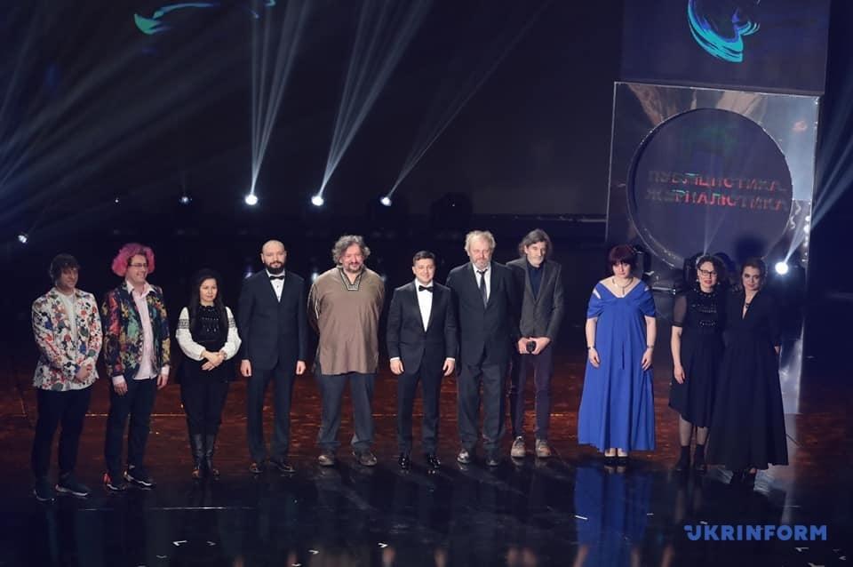 У Києві вручили Шевченківські премії