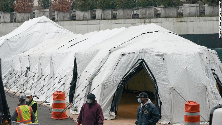 У Нью-Йорку, вперше після теракту 11 вересня, встановлюють мобільні морги