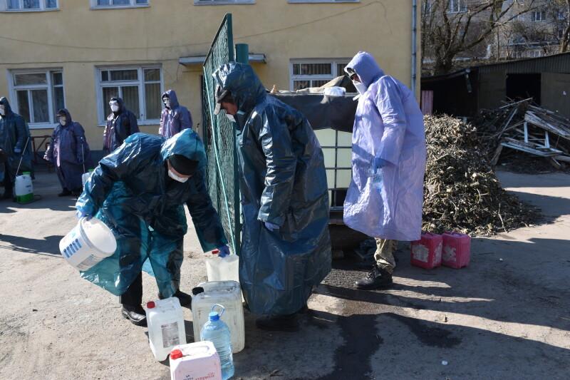 У Луцьку виділили мільйон на дезінфекцію