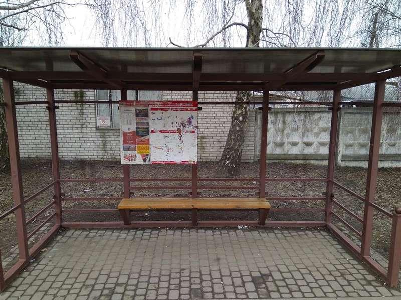 У Луцьку перенесли одну з зупинок громадського транспорту