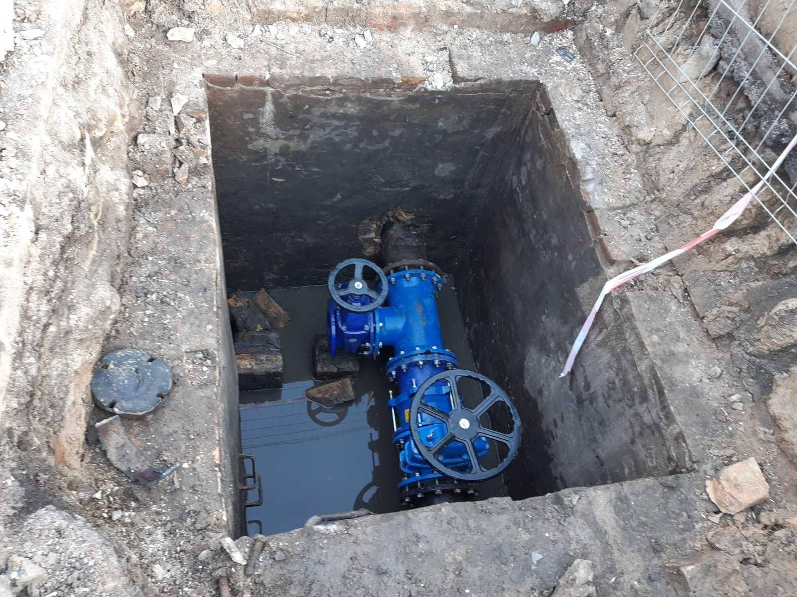 У Луцьку завершили ремонт водопровідних мереж та відновлюють водопостачання