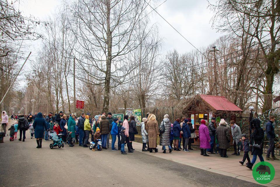 Луцький зоопарк відвідали понад чотири тисячі жінок за один день. ФОТО