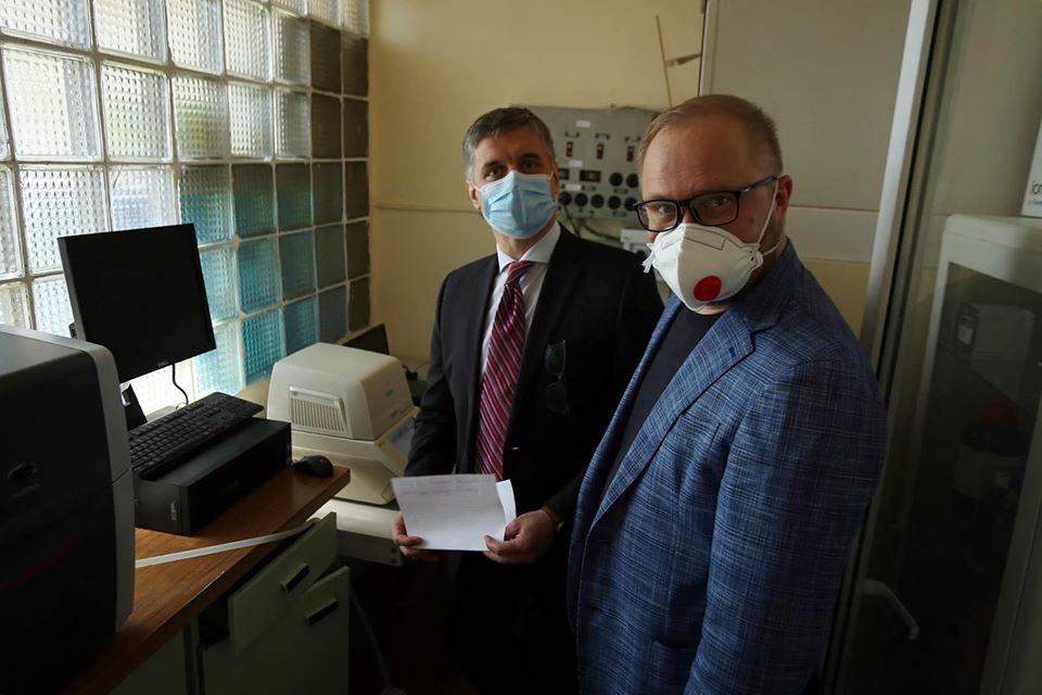 В Україні розробили тест-систему для діагностики коронавірусу