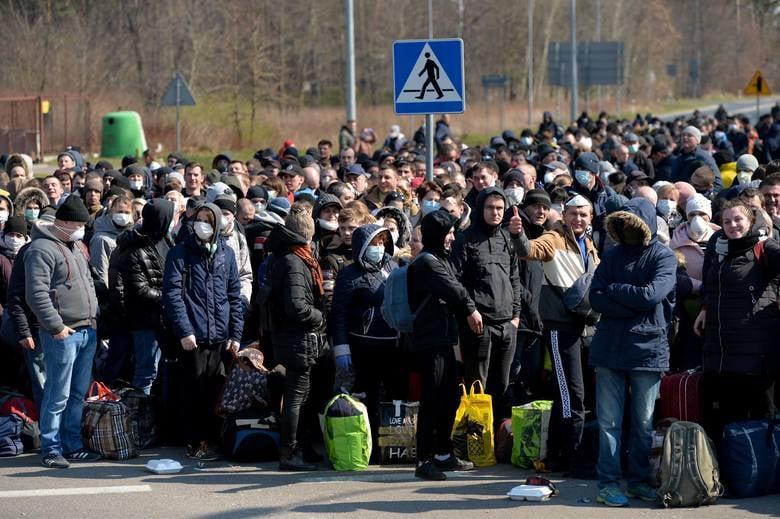У Волинській ОДА заявили, що на україно-польському кордоні скупчень немає