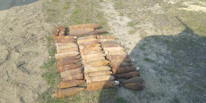 На Волині сапери за добу знешкодили 14 вибухонебезпечних предметів минулої війни
