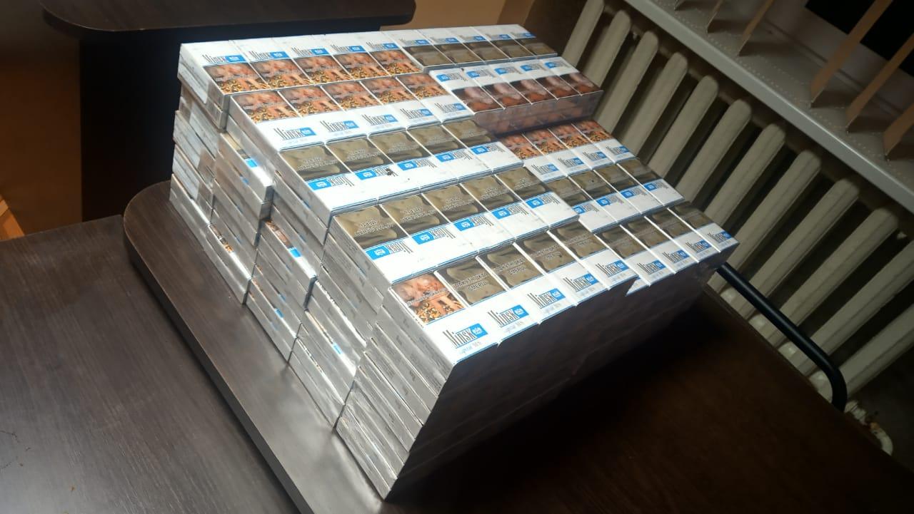 На Волині за вихідні прикордонники виявили сотні пачок цигарок