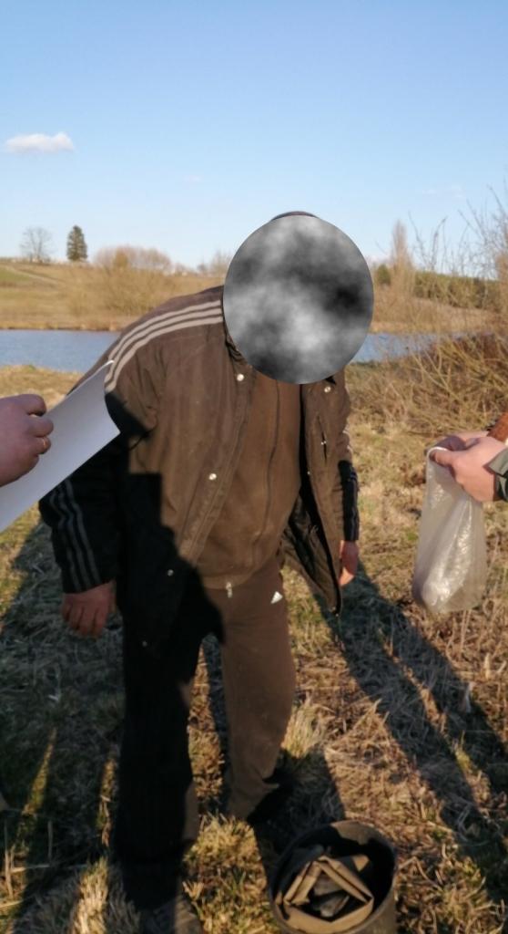 На території гідрологічного заказника на Волині викрили порушника з «острогою»