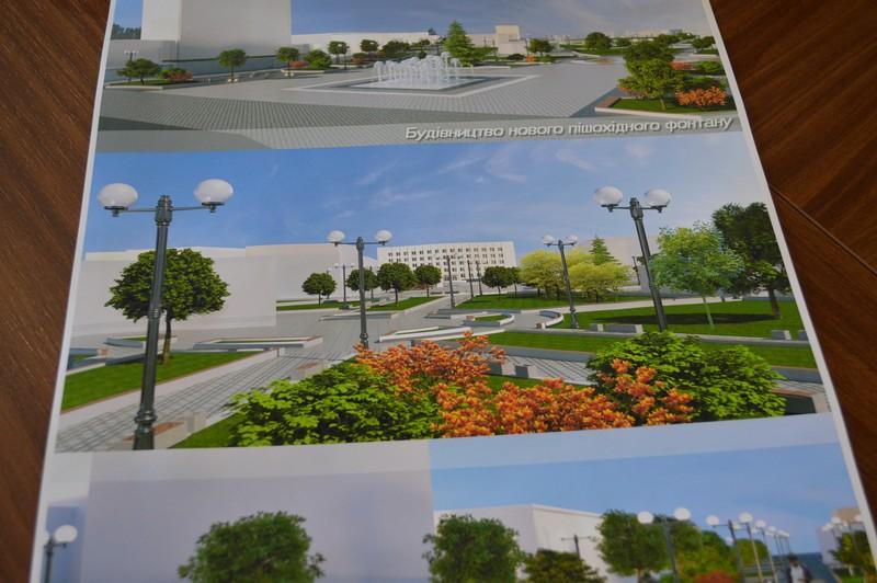У Ковелі планують реконструювати центральну площу та парк