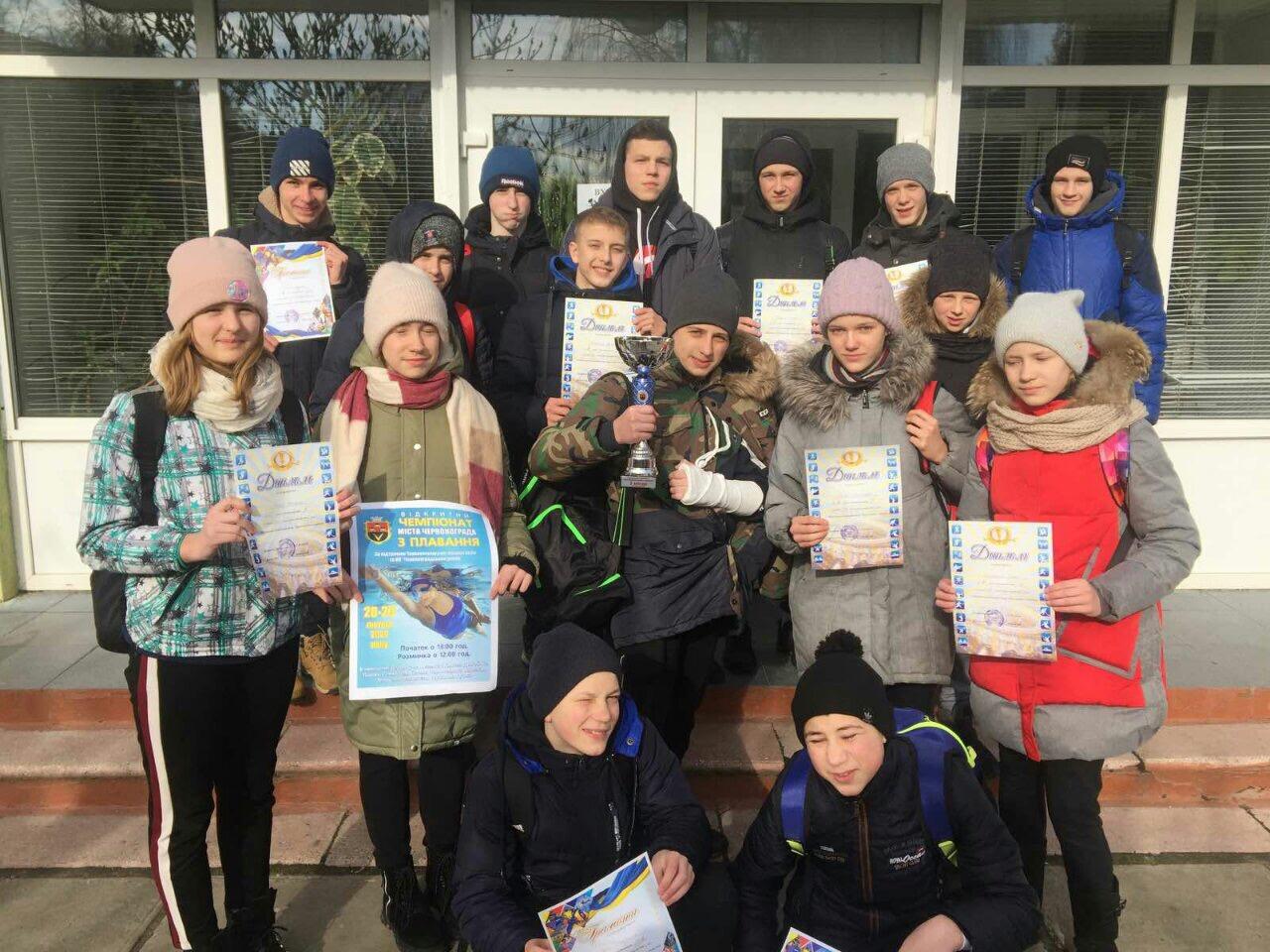 Юні плавці з Волині показали високі результати у відкритому чемпіонаті Червонограда
