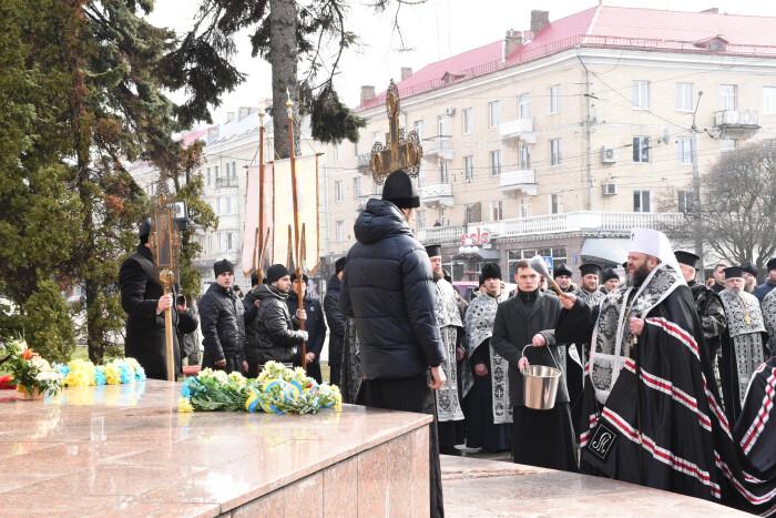 У Луцьку вшанували пам'ять Тараса Шевченка