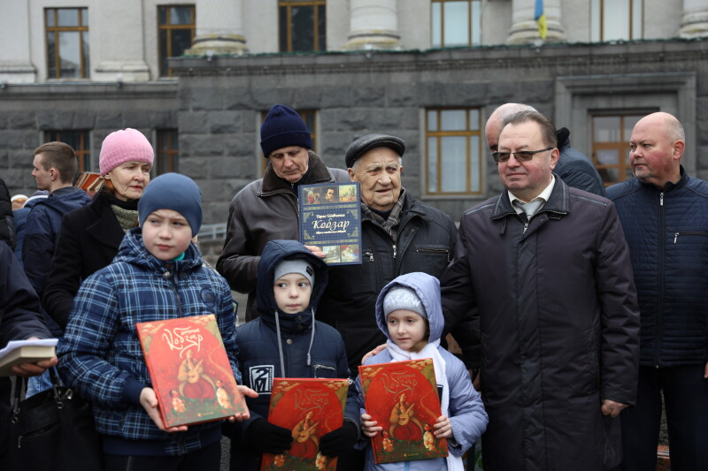 Лучани вшанували пам'ять Кобзаря у 206-ту річницю від дня його народження